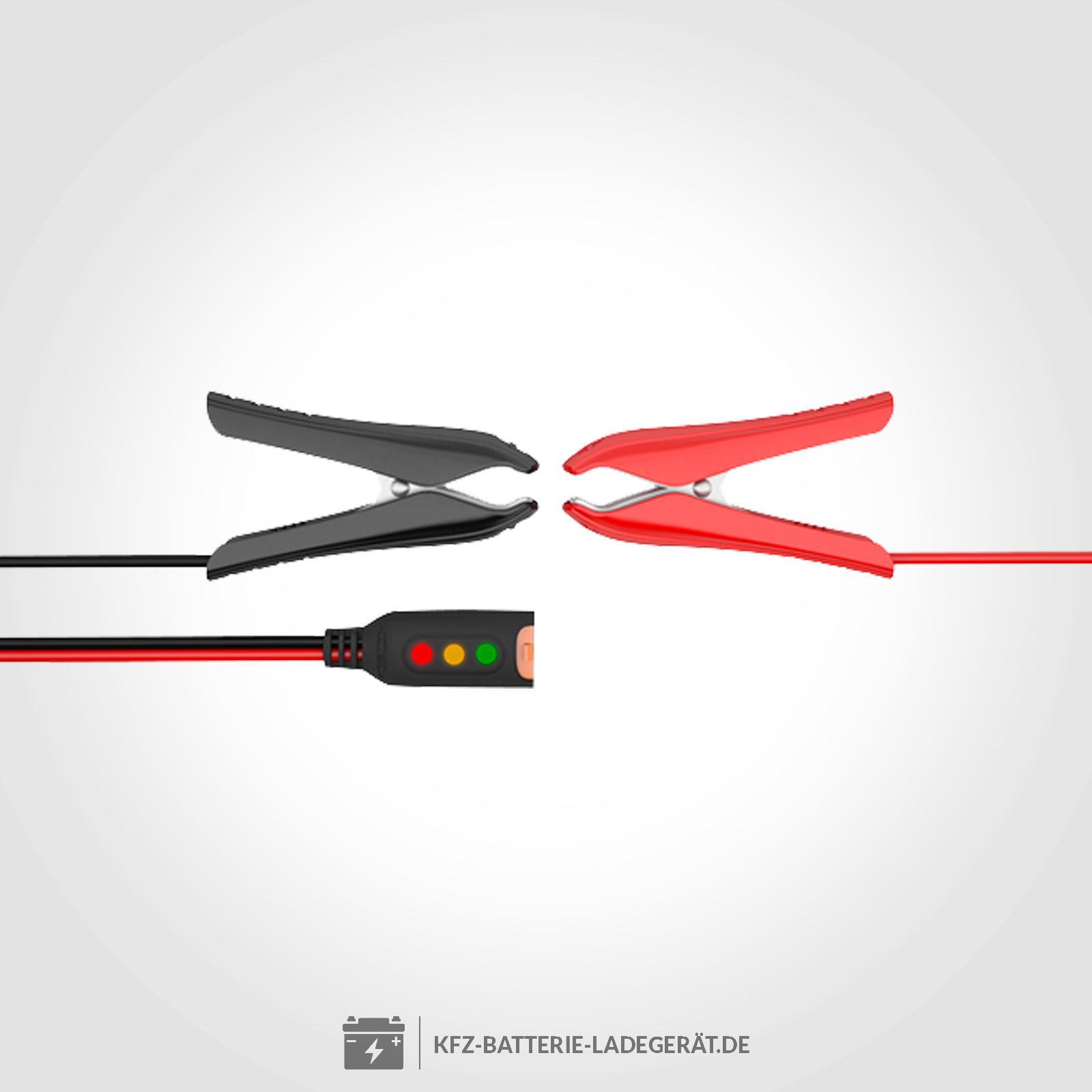 Ctek Ladekabel Mit Klemmen Und Led Batterie Statusanzeige Wiring Diagram