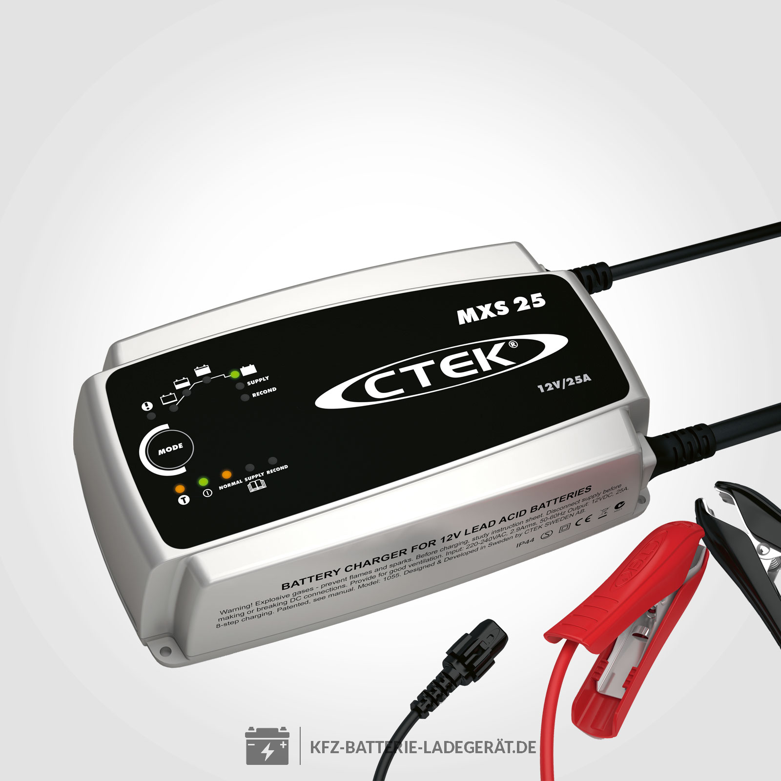 ctek mxs25 ladeger t f r 12v batterien ctek batterie
