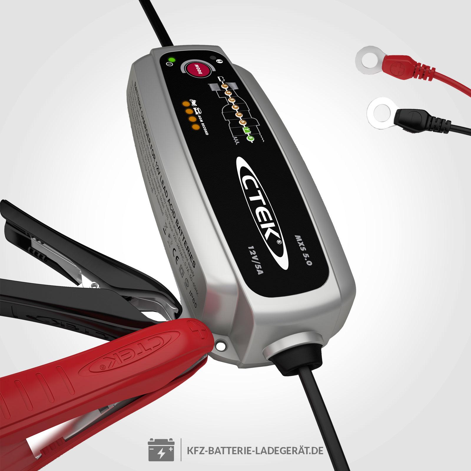 Icke gamla CTEK Batterie Ladegerät MXS 5.0 - CTEK Batterie Ladegeräte XJ-59