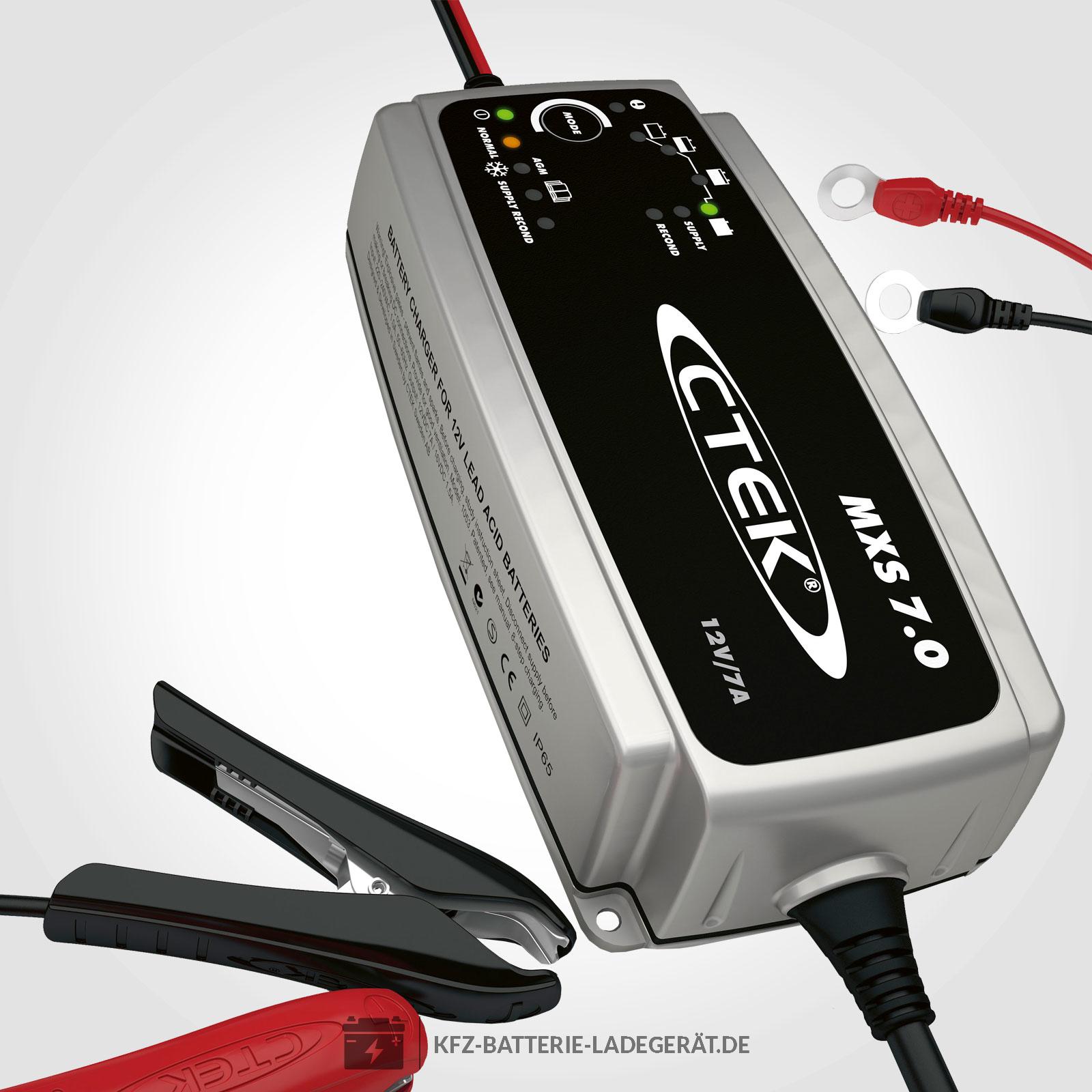 Ctek Mxs 70 Ladegerät Für 12v Batterien Ctek Batterie Ladegeräte